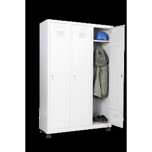 Шкаф за дрехи 3 души
