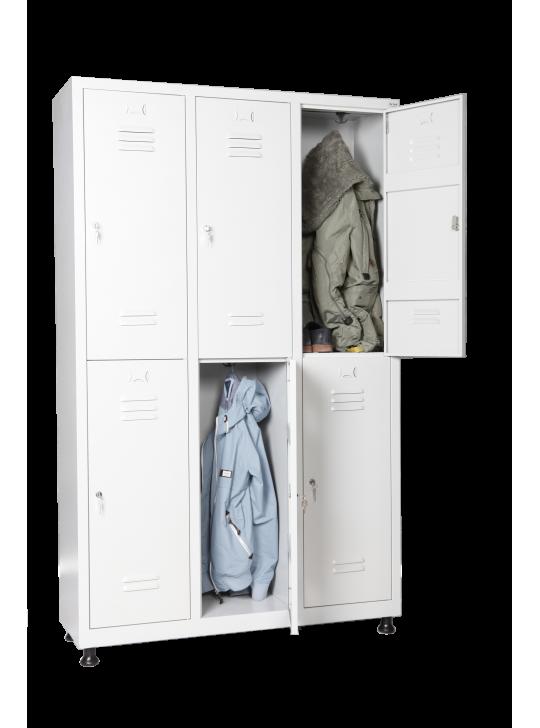 Шкаф за дрехи 6 души